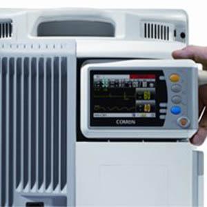 Транспортный монитор WQ-001 может подключить к монитору модели WQ-003 c возможностью обмена данными